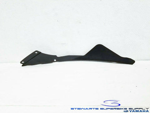 2006 - 2007 YAMAHA YZF R6 OEM BLACK INNER PANEL 3 RIGHT UNDER COWL FAIRING 06 07
