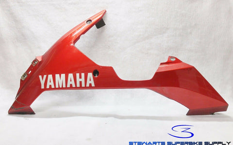 YAMAHA R1 Left Under Cover Cowling 4C8-Y2808-30-P3 Deep Red 07 08 yzfr1 Fairing