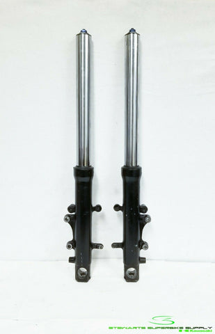 1998 - 1999 KAWASAKI NINJA ZX9R OEM FRONT FORKS LEFT RIGHT SUSPENSION 98 99 STR8