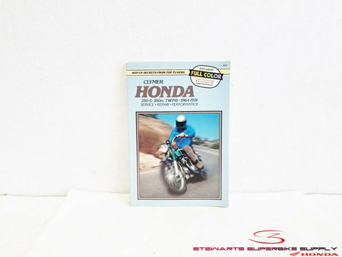 1964 - 1974 HONDA 250 - 350 TWINS CLYMER SERVICE MANUAL CB CL SL 250cc 350cc