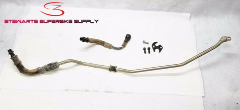 Honda XR650R OIL PIPE AND HOSES HOSE A B 00 - 07 XR 650 XR650 OEM LINE