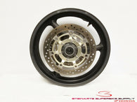 2001 - 2006 HONDA CBR600F4i OEM FRONT WHEEL RIM AND ROTORS CBR 600 F4i 2 01 02 +