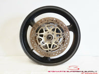 1991 - 1994 HONDA CBR600F2 OEM FRONT WHEEL RIM AND ROTORS CBR 600 F2 91 92 93 94
