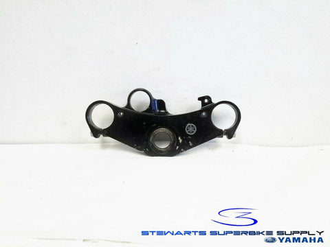 1999 - 2002 YAMAHA YZF R6 OEM FRONT UPPER TRIPLE TREE STEERING HANDLE HOLDER 5EB