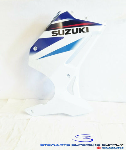 2004 - 2007 SUZUKI GS500 OEM WHITE RIGHT SIDE FAIRING COWL COWLING 04-07 GS500F