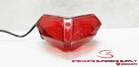 DUCATI 848 EVO 1098 1198 CLEAR ALTERNATIVES INTEGRATED TAIL LIGHT TURN SIGNALS