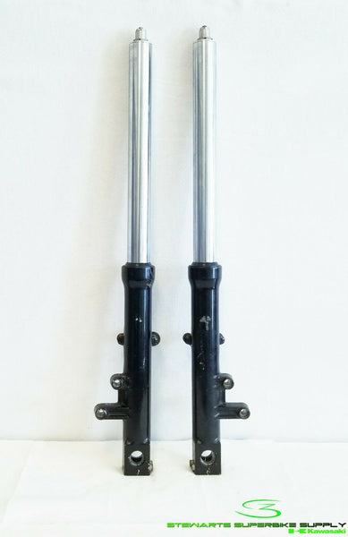 1992 1993 KAWASAKI ZX1100 OEM FRONT FORKS LEFT RIGHT STRAIGHT ZX11 SUSPENSION
