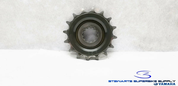 06 - 18 YAMAHA YZF R6 OEM 16T FRONT DRIVE SPROCKET R6R 16 TOOTH NICE