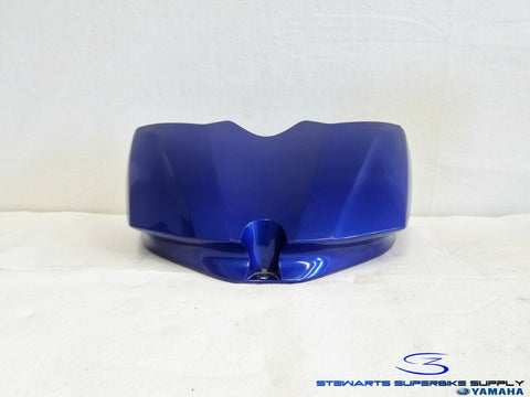 07 - 08 YAMAHA YZF R1 BLUE FUEL TANK FRONT COVER FAIRING BODYWORK 13S-2171Y
