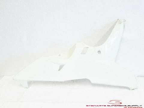 2007 - 2008 HONDA CBR600RR RIGHT LOWER FAIRING COWLING WHITE COWL 07 08 BODYWORK