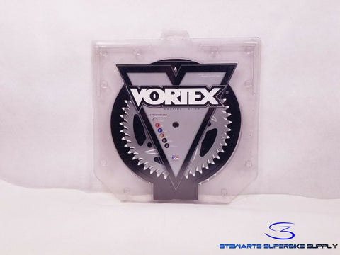 VORTEX 520 44T BLACK ALUMINUM REAR SPROCKET GSXR600 GSXR750 GSXR1000 44 TOOTH