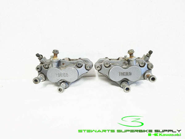KAWASAKI ZX6 ZX7 ZX11 OEM FRONT LEFT RIGHT BRAKE CALIPERS ZX6R ZX7R 4098 4097