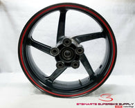 99 - 03 APRILIA TUONO RSV 1000 REAR WHEEL STRAIGHT RSV1000 GOOD