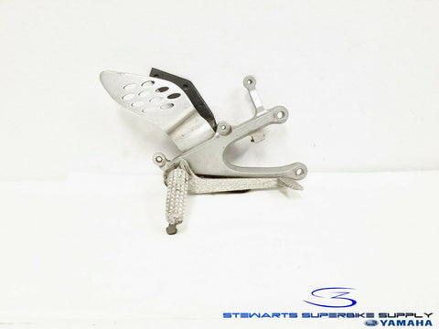 2004 - 2006 YAMAHA YZF R1 OEM FRONT RIGHT REARSET FOOTREST BRACKET BRAKE LEVER