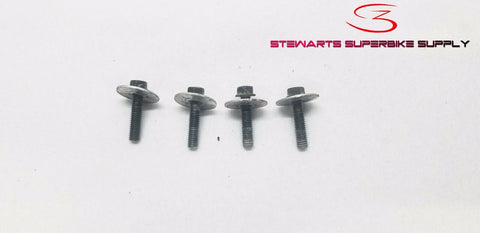 Honda XR650R RADIATOR MOUNTING BOLTS SET 90005-KGB-610 00 - 07 OEM XR650 XR 650