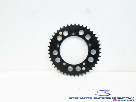 DRIVEN 520 43T BLACK REAR SPROCKET 76057-43T GSXR600 GSXR750 GSXR1000 43 TOOTH 1
