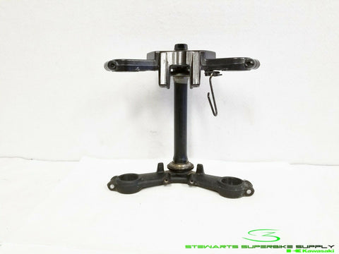 1988 - 2007 KAWASAKI NINJA EX250 OEM UPPER LOWER TRIPLE TREE STEERING STEM 250R