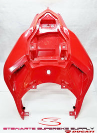 DUCATI 848 EVO RED RAIL GUARD REAR SEAT SIDE COVER FAIRING 483.2.170.1AA
