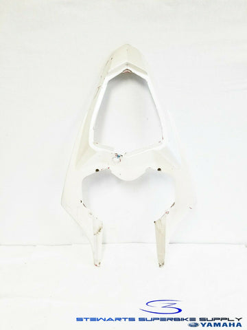 2009 - 2014 YAMAHA YZF R1 OEM WHITE REAR TAIL SIDE COVER FAIRING COWL 12 COVER