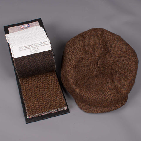 herringbone tweed hats