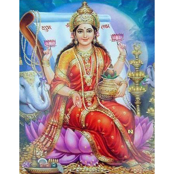 Maa Lakshmi Diamond Painting