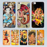 Ganesha transparent clear hard Case for Xiaomi Mi 5 5s Plus 4 4s redmi note 4 3 4Pro