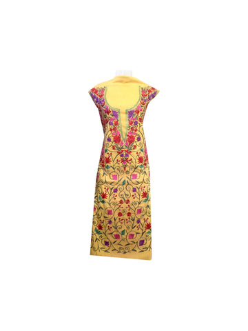 Copy of Summer Wear - Bright Color Suit With A Shape Jaal design - KatraBAZAAR