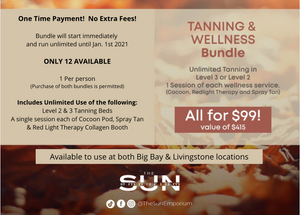 Tan Till 2021 - CANNOT USE PROMO CODES