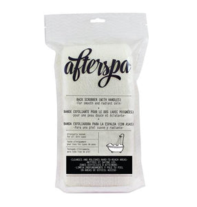 Afterspa Back Exfoliator with handles