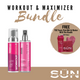 Workout Ready & Tan Maximizer Bundle