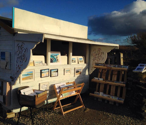 art shack at treyarnon bay