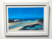 """Dreamy Blue at Treyarnon"" Fine Art Print"