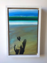 Mixed media original painting by surf artist Toby Ray
