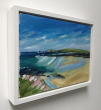 painting of trevose to trethias island toby ray
