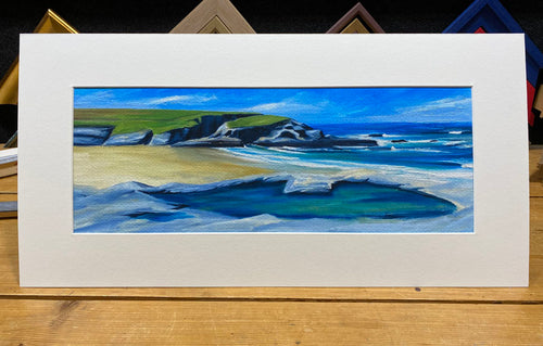 'Across to Trethias Island' Limited Edition Mounted Print