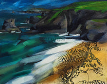 """Looking North from Porthcothan"""