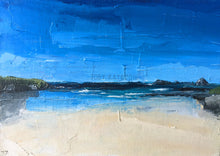 Treyarnon Bay Painting by Toby Ray Artist