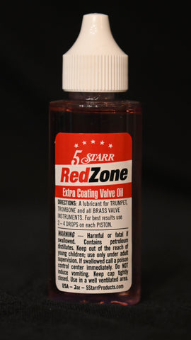 5 Starr Red Zone Valve Oil