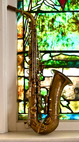 "Buescher 400 ""Top Hat and Cane"" Alto Saxophone"