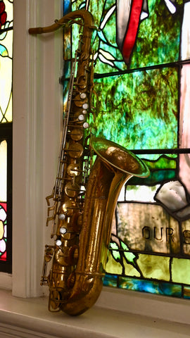 "Buescher 400 ""Top Hat and Cane"" Tenor Saxophone"