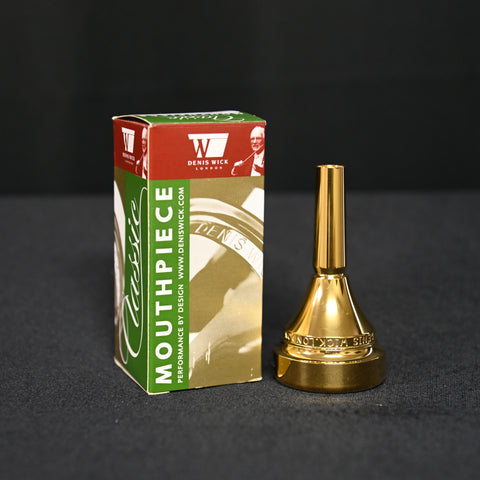 Denis Wick DW4286 Classic Series Tuba Mouthpieces in Gold