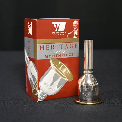 Denis Wick Heritage Series Tuba Mouthpieces