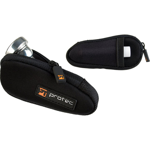Protec Trumpet Mouthpiece Pouch - Neoprene, Single (Black)