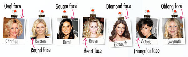 Choose the best eyebrow shape for your face.