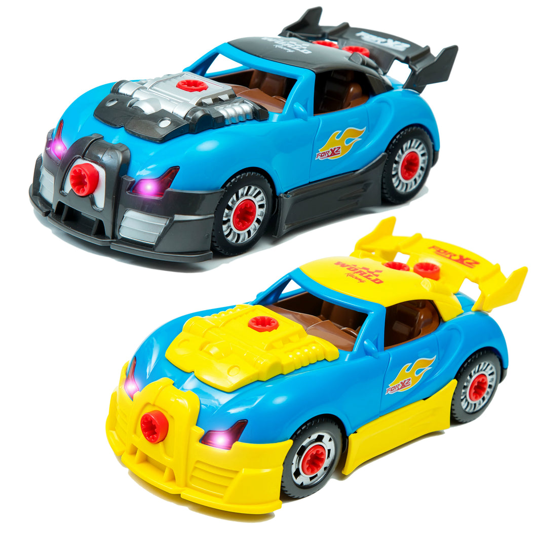 Brainnovative toys world racing car take a part toys for for Motor racing for kids