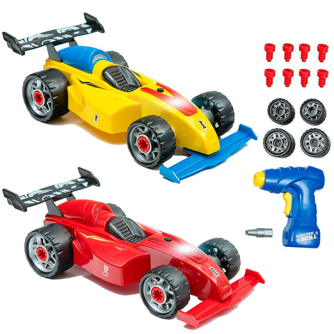 innovative brain f1 take a part toys for kids with 48 interchangeable take apart