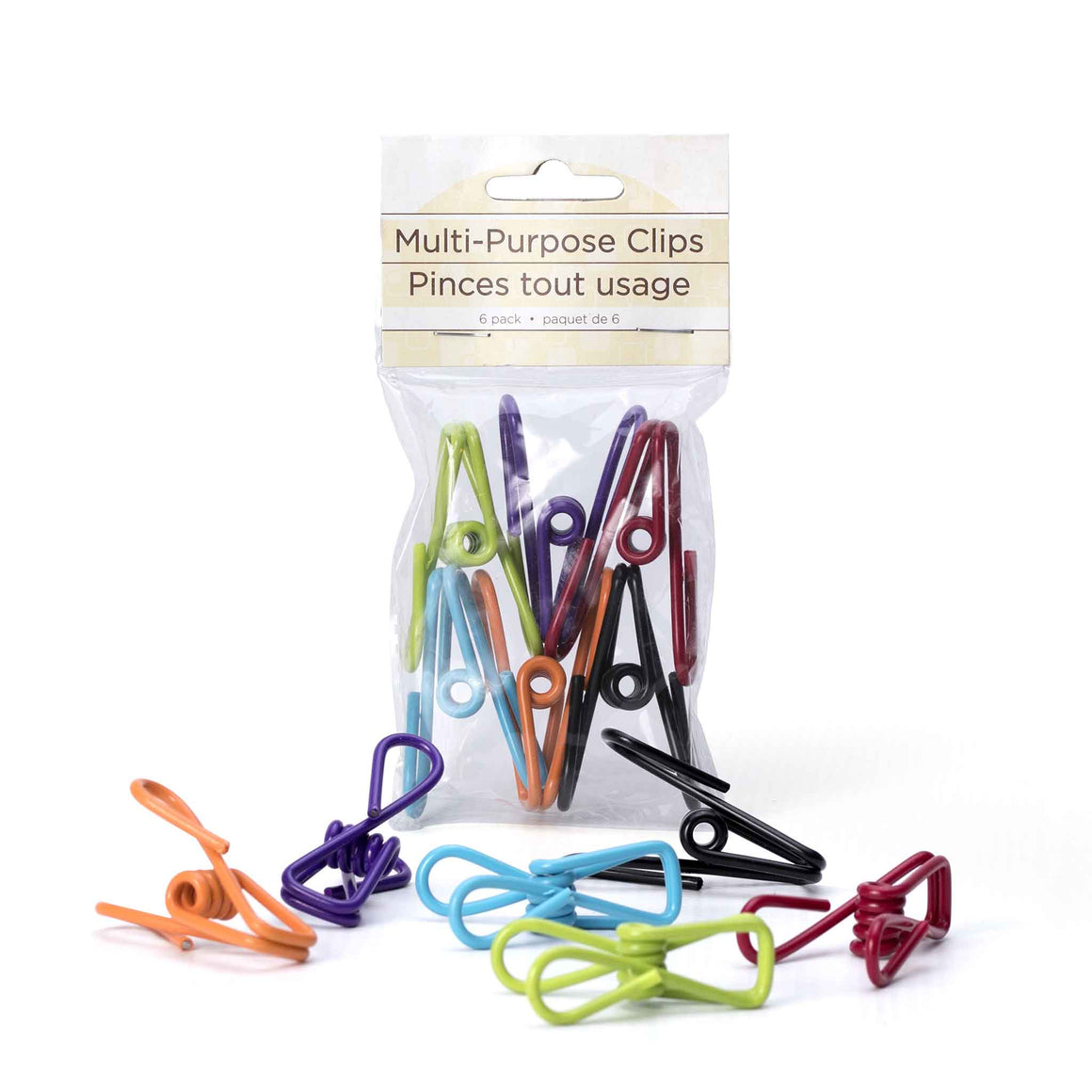 Multi-purpose Clips product image - included with Dr. Don's Care Packages College Student Care Package.