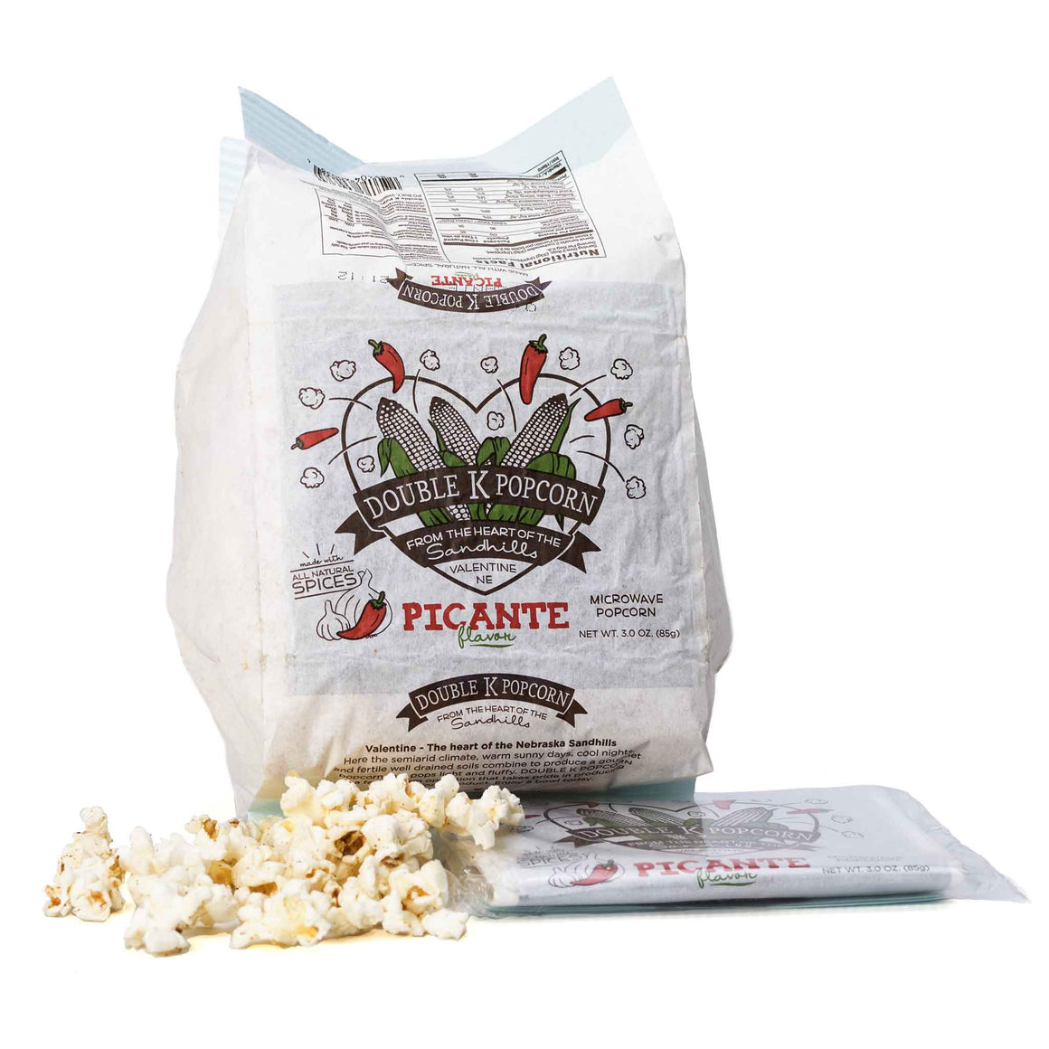 Picante Flavored Microwave Popcorn product image - included with Dr. Don's Care Packages College Student Care Package.