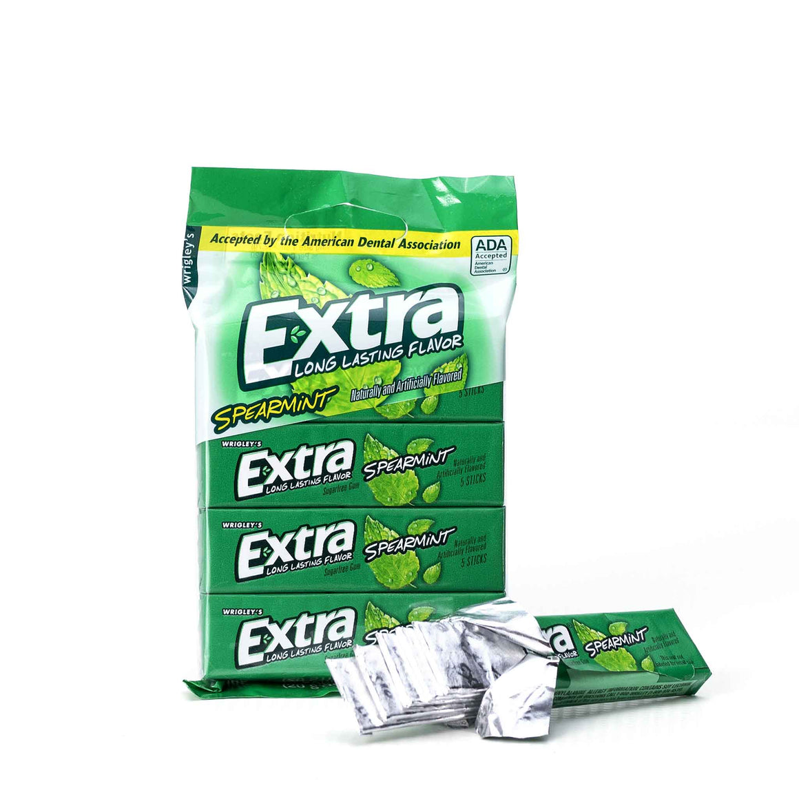 Spearmint Chewing Gum product image - included with Dr. Don's Care Packages College Student Care Package.