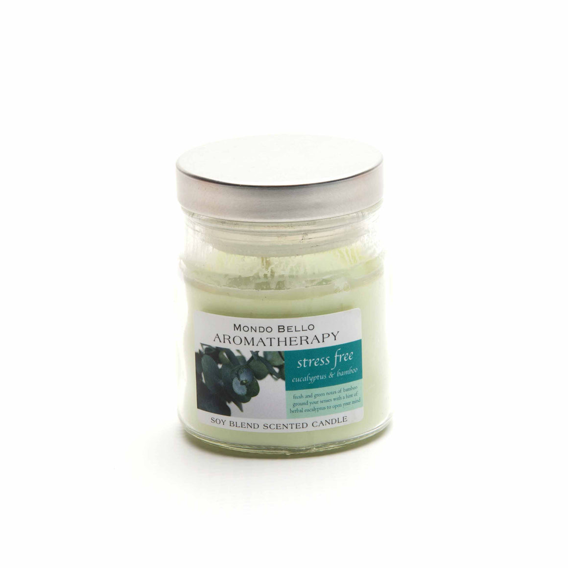 Stress-Freeing Aroma Candle product image - included with Dr. Don's Care Packages Sympathy Condolence Care Package.